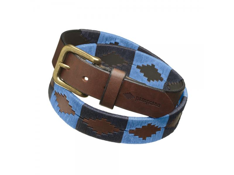 Pampeano Belt Azules - Navy, Sapphire Blue
