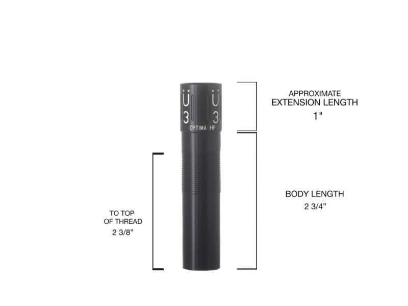Muller 12G Featherlite Competition Choke Tube for Beretta OPTIMA HP