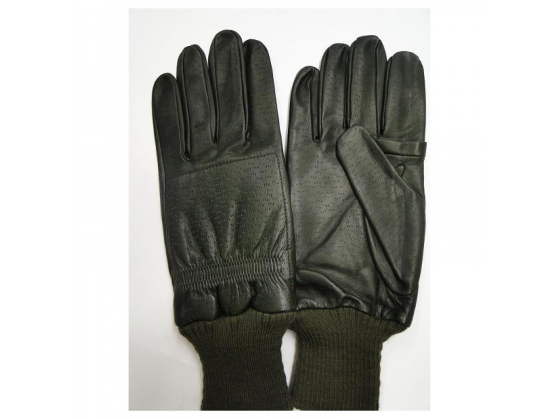 GMK RH Leather Shooting Gloves Green