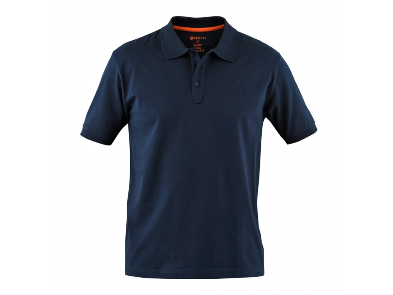 Beretta Corporate Polo Shirt Blue Total Eclipse