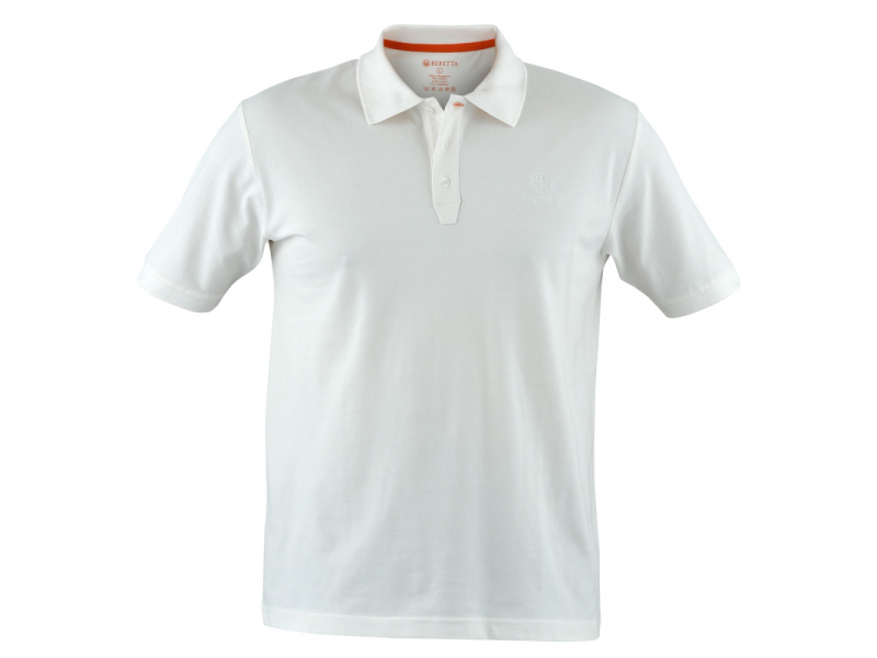 Beretta Corporate Polo White/Cream