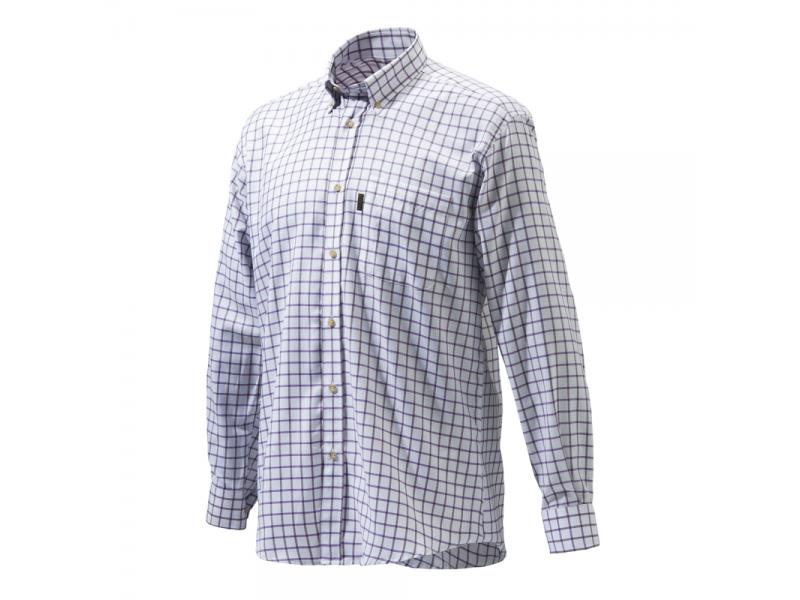 Beretta Classic Shirt White/Prune /Amethyst