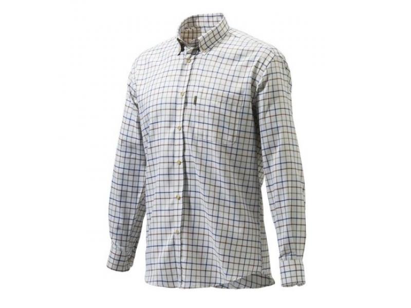 Beretta Classic Shirt Wte/Amb/blu Check