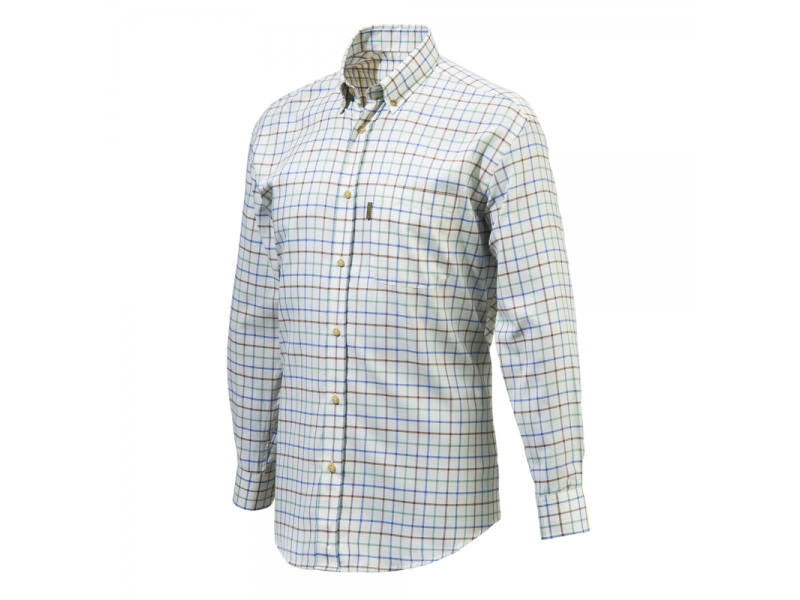 Beretta Classic Shirt Blue Check
