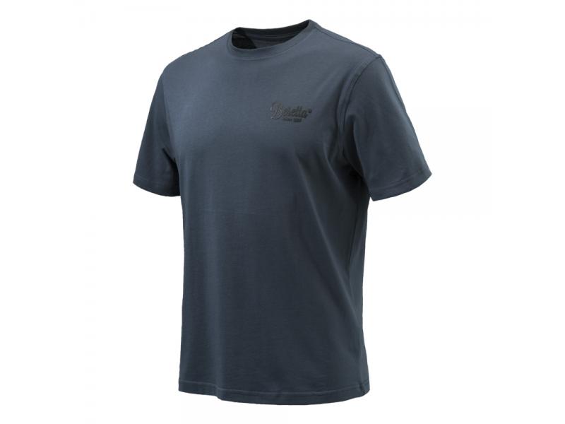 Beretta Corporate T Shirt Blue Nights
