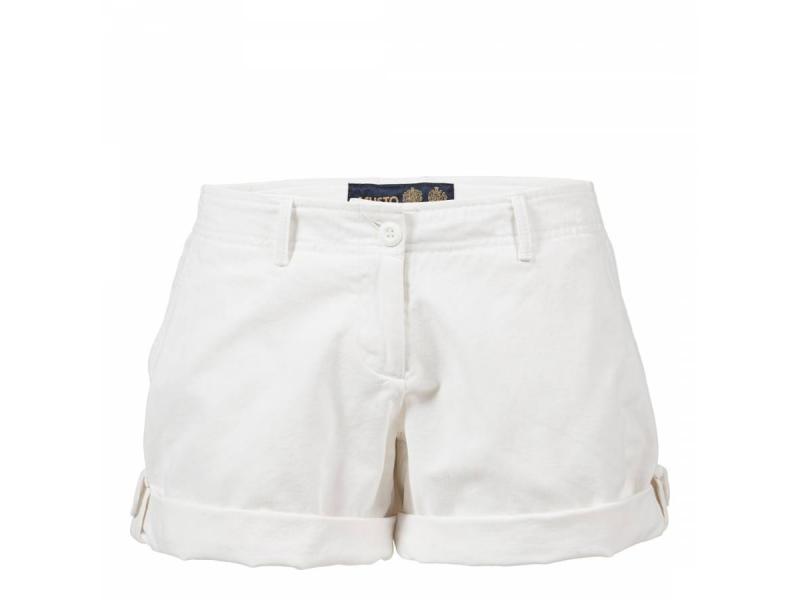 Musto Ladies Morgan Shorts White S/S