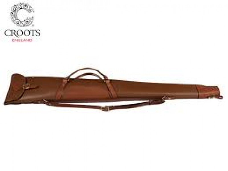 Croots Byland Full Leather, Zip, Flap and Handles 32: London Tan