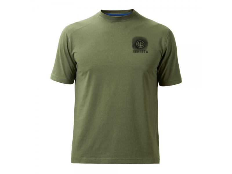 Beretta T Shirt Logo Ivy Green O/S