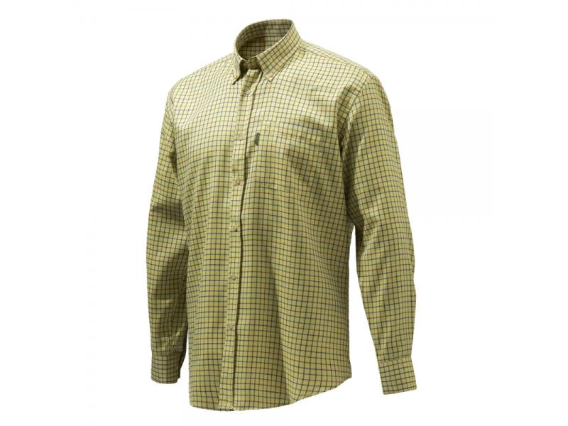 Beretta Classic Shirt Mustard Check