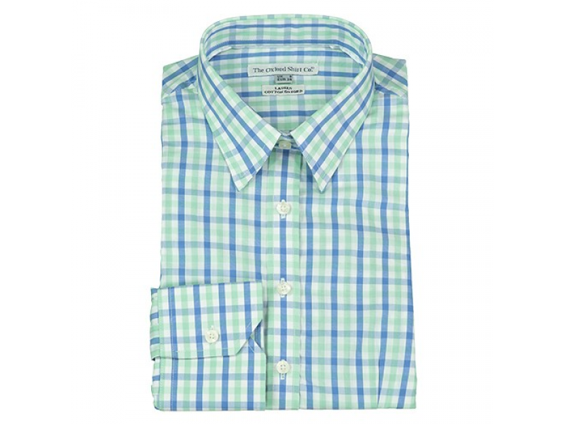 Oxford Shirt Co Ladies Fitted Check Shirt