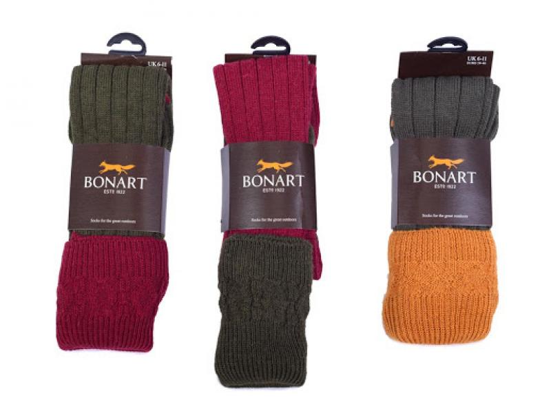 Bonart Shooting Socks Plain Colours