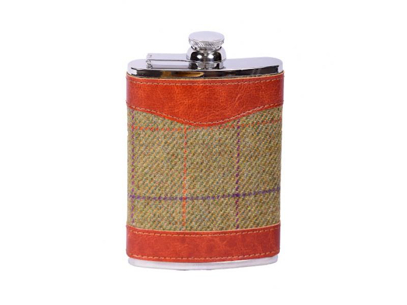 Bonart Tweed Flask 8oz