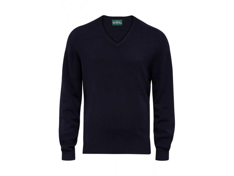 Alan Paine Burford V Neck Knitwear