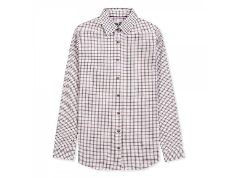 Musto Country Shirt Berry Check
