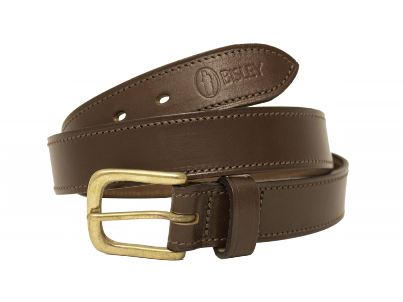 Bisley Plain Leather Belt