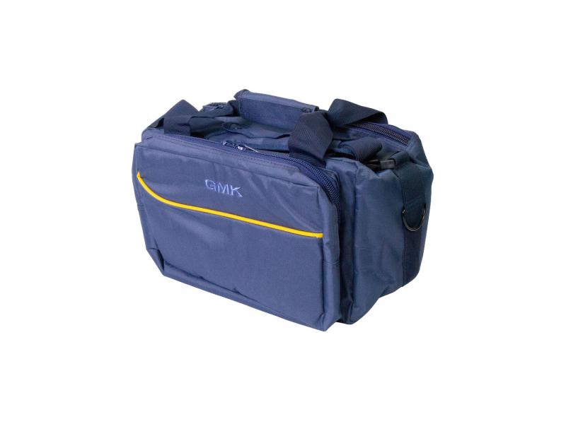 GMK Range Bag Navy, Yellow trim