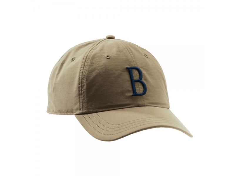 Beretta Big B Tan Blue Cap