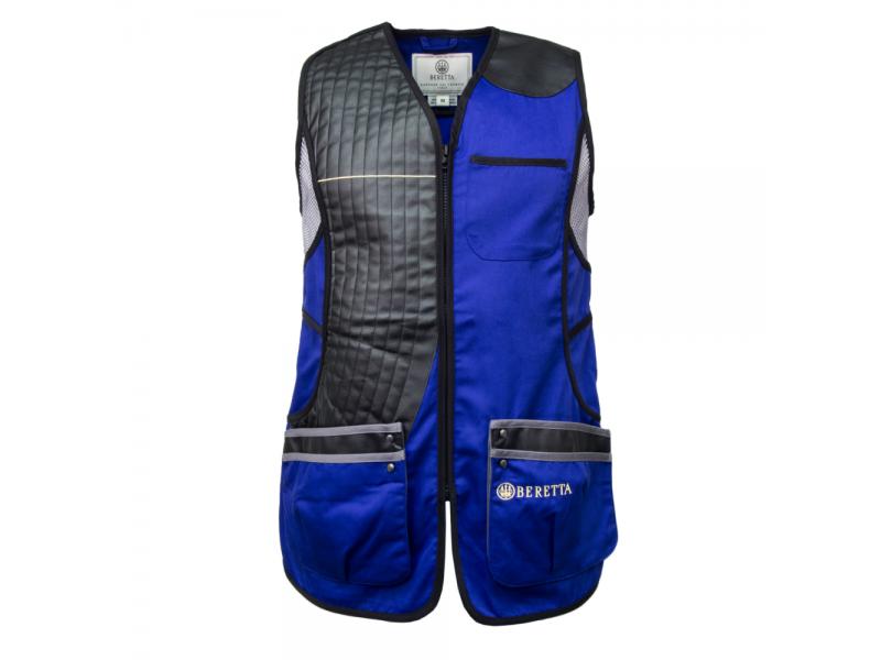 Beretta Ladies Sporting Vest Blue/Grey