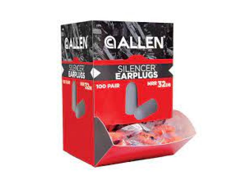 Allen Foam Silencer plugs