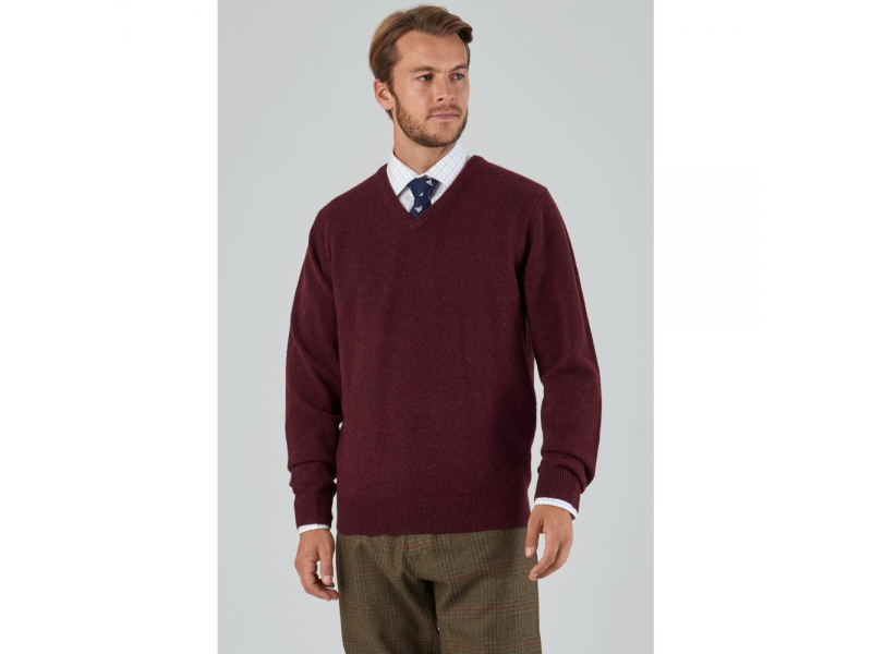 Schoffel Lambswool V Neck