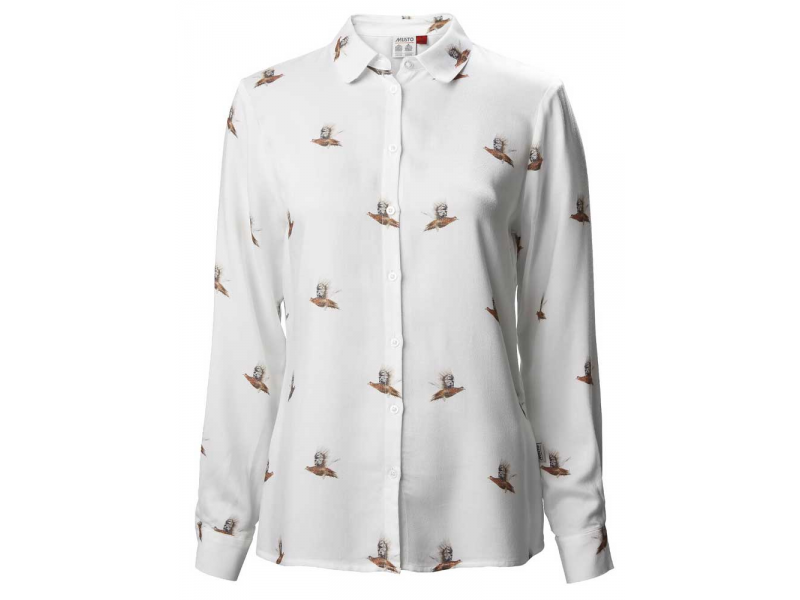 Musto Country Print Ladies Shirt Grouse