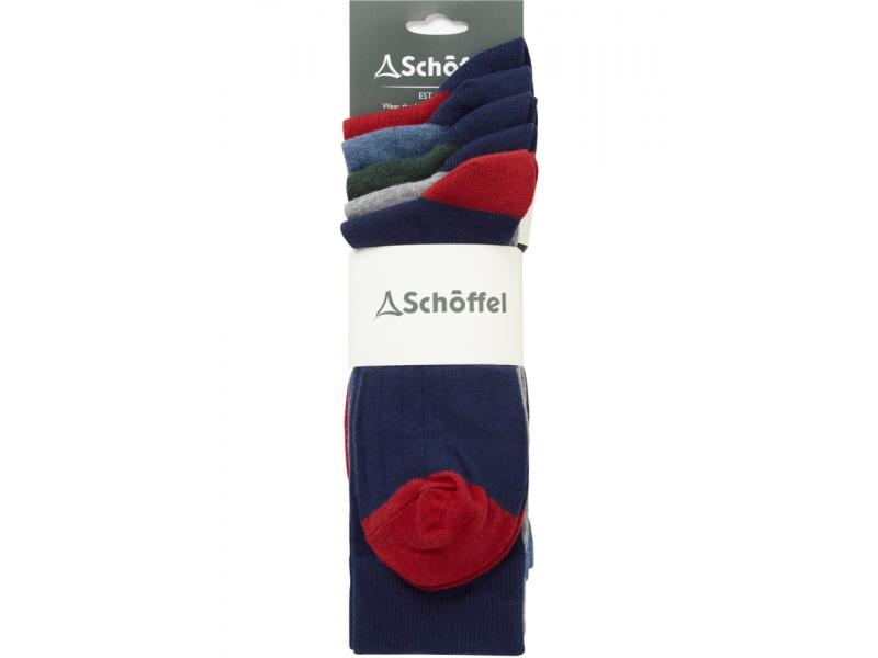 Schoffel Spey Socks (Pack of 5)