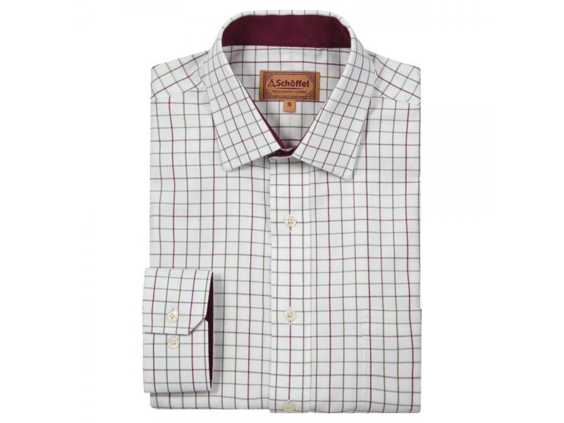 Schoffel Burnham Tattersall Shirt