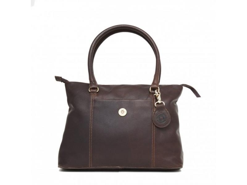 Hicks and Hides Ladies Hidcote Cartridge Handbag