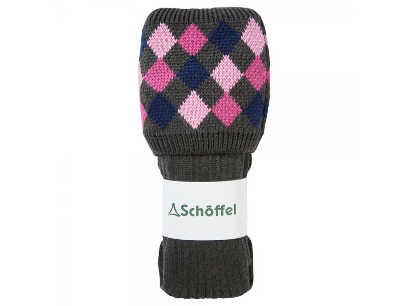 Schoffel Ladies Ptarmigan Forest/navy/rose/pink sock