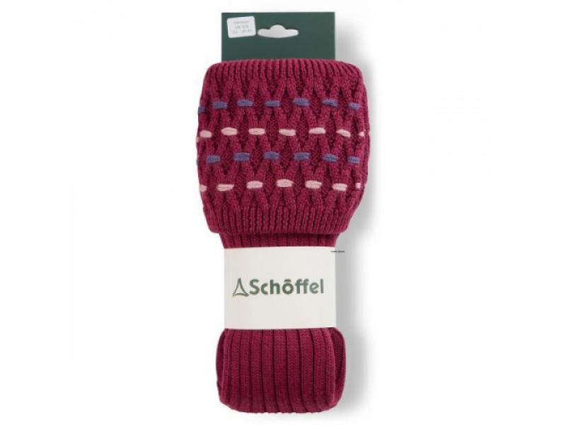 Schoffel Ladies Stitch Sock II Raspberry/Purple