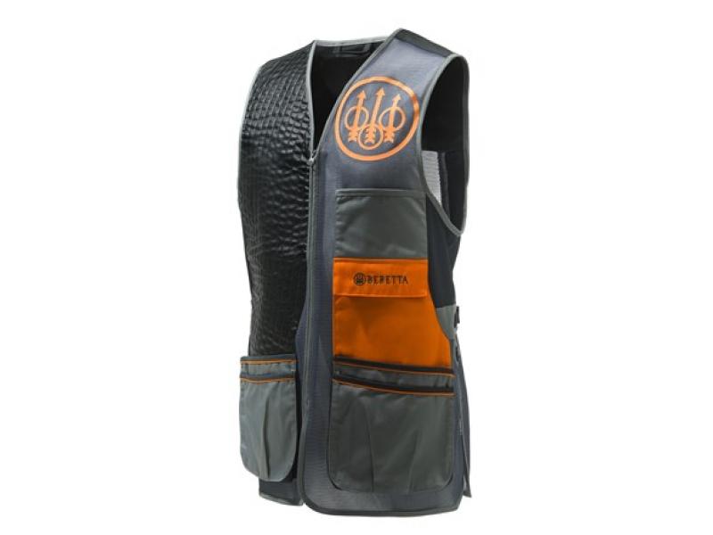Beretta Sporting Evo Vest Grey/Black/Orange
